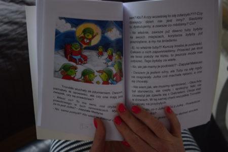 Tronditle - wnętrze ksiązki